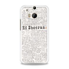 ed sheeran tumblr HTC One M8 Case   yukitacase.com