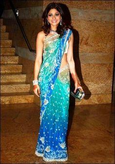 Shamita Shetty Saree - Google Search