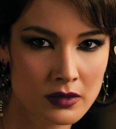 Berenice Marlohe. Favorite Bond girl makeup!
