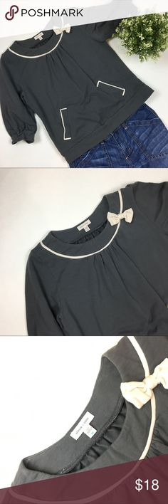 Urban Outfitters Silence + Noise Bow Top Adorable and in great condition! silence + noise Tops Blouses