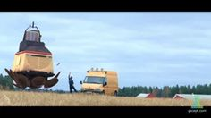 VFX Exercise 2014 based on concept by Simon Stålenhag on Vimeo