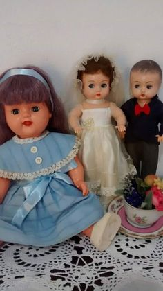 Bonecas antigas de baquelite Estrela