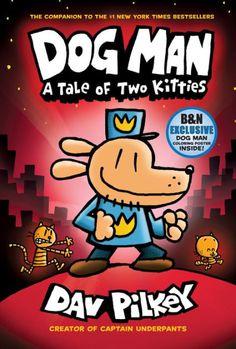 Captain Underpants, Tom Gates, Dog Man Book, Man And Dog, New York Times, Old Love, Dav Pilkey Books, Dav Pilkey Dog Man, Super Cute Kittens