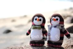 Sew | Sock Penguin | Free Pattern & Tutorial at CraftPassion.com - Part 2