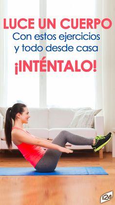 Son ejercicios que puedes hacer desde casa intentalo #Sport #Home #Hogas #deporte