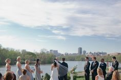 Waterfront Wedding at The Boathouse at Rocketts Landing | Richmond, VA Wedding Photographer » Angela Newton Roy Photography
