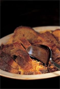 MY GRANDMOTHER'S GINGER JAM BREAD AND BUTTER PUDDING