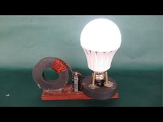Free energy light bulbs with magnets work 100% - Experiments projects DIY easy - YouTube
