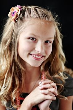 50+ Long Hairstyles For Kids Girls : Long Curls Braid Little Girl Hairstyles