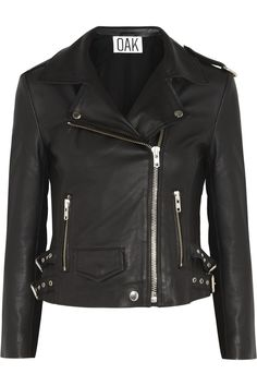 OAK | Rider leather biker jacket | NET-A-PORTER.COM