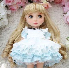 Disney Baby Dolls, Disney Princess Dolls, Baby Disney, Disney Animators, Disney Animator Doll, Alice In Wonderland Doll, Doll Repaint, Custom Dolls, Diy Doll