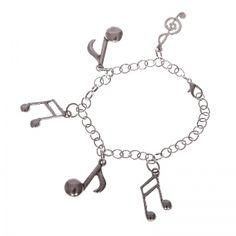Composer's note bracelet