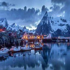 Moskenes, Norway.