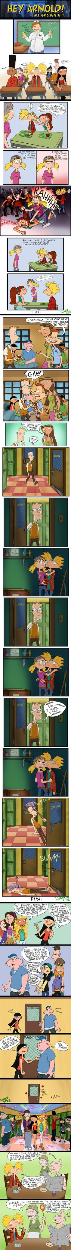 Hey Arnold grown up