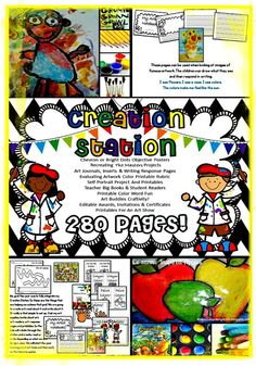 Little Miss Kindergarten - Lessons from the Little Red Schoolhouse!: Little Miss Kindergarten - Lessons from the Little Red Schoolhouse! $Creation Station 280 pages of art printables, 5 projects, teacher big books, readers and more! Get your creative juices flowing...