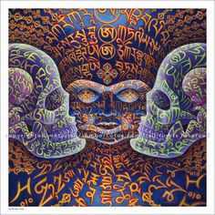 Alex Grey 2017 Wall Calendar. Experience a psychedelic and visionary journey through the metaphysical and spiritual anatomy of the self, and let Alex Grey help you discover your divinely illuminated core. Click through to see the most recent edition!