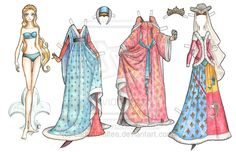 Medieval Paper Doll by ~LadyAmaltea on deviantART History Of Paper, Paper Art, Paper Crafts, Paper Dolls Printable, Vintage Paper Dolls, Paper Toys, Gothic Lolita, Beautiful Dolls, Doll Toys
