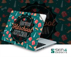 Skin4Gadgets Approved Oldschool Gentlemen Laptop Skin For 15 and 15.6 inch Laptop