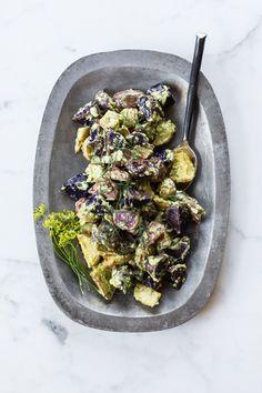 Avocado Dill Vegan Potato Salad
