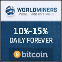 Free Bitcoin: WORLDMINERS, inv. mín. 0.001 Bitcoins al 10% diari...