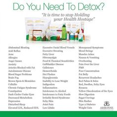 why use the Arbonne 28-day detox program Anne-SophieBourge...