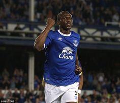 Ivorian forward Arouna Kone has seen little action under Ronald Koeman this season
