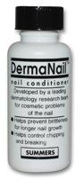 Summers Lab DermaNail Nail Conditioner by Summers Labs. $24.35. Used by dermatologists for brittle, splitting or peeling nails.. Used by dermatologists for brittle, splitting or peeling nails. Unique, patented technology unlike any other nail product on the market. Takes 8 to 16 weeks to yield results, but your patience will be rewarded. Unconditional satisfaction guarantee.