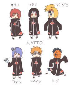Akatsuki by natto-ngooyen on DeviantArt Boruto, Pokemon Fairy, I Ninja, Naruto Funny, Naruto Art, Dragon Ball Gt, Itachi Uchiha, One Punch Man, Akatsuki