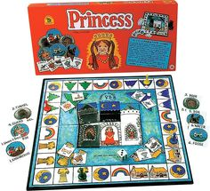 Princess cooperative game by family pastimes #cooperation #game #children www.cooperativegames.com