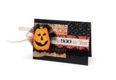 Sizzix Halloween Card