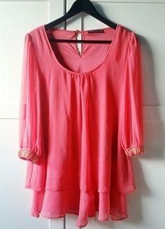 Kup mój przedmiot na #vintedpl http://www.vinted.pl/damska-odziez/koszule/14254410-bluzka-oversize-perly-tunika