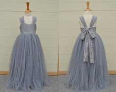 Hey, I found this really awesome Etsy listing at https://www.etsy.com/listing/247380916/flower-girl-dress-baby-girl-dress-grey