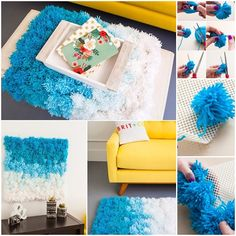 "<input class=""jpibfi"" type=""hidden"" ><p>We have seen many project with Pom Poms, it's really fun. Now we are going to make some useful creations for home decor. It is a 3-in-1 DIY projects as rugs, wall hangings, and table cover. This project is very functional and just needs some time,but really interesting. Here is …</p>"