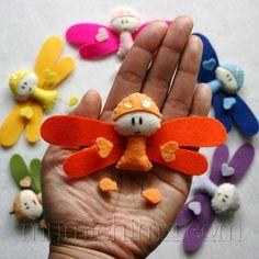 Dancing Dragonflies Decorative Hanging Mobile