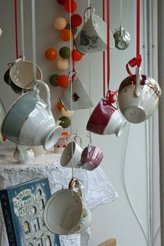 Tea & cake display for Dartmouth Food Festival 2012.