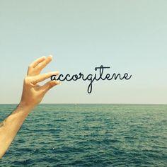 accorgitene™    #accorgitene #notice #sky #sea #typography #lasercut #vectorealism