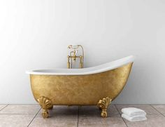 Who needs a golden compass when you have a golden bathtub?