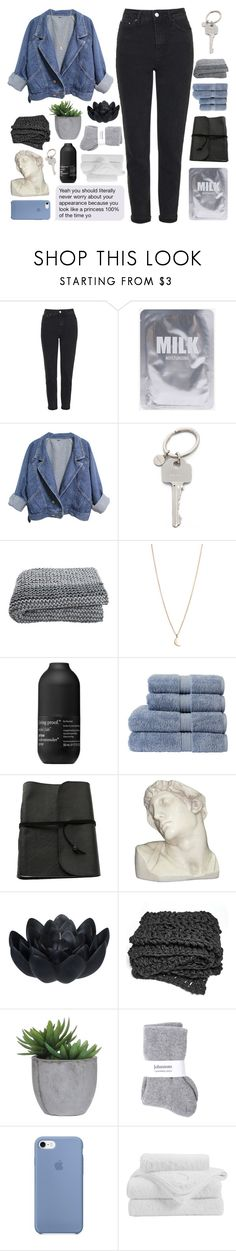 """B E A T U S"" by naturitve ❤ liked on Polyvore featuring Topshop, Paul Smith, Minor Obsessions, Living Proof, Christy, House Parts, Sia, Lux-Art Silks and Johnstons"
