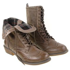 Dirty Laundry Paxton Distressed Taupe Vegan Combat Boot