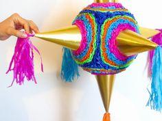Decora piñatas con tus hijos