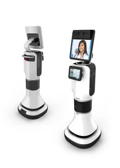ical Telepresence Robot : A unique collaboration between iRobot and Intouch Health was created to develop a robot that fills the need of doctors being in any hospital at any time. This was an exciting and rewarding challenge to design Technology Gadgets, Tech Gadgets, Ai Robot, Robot Arm, Medical Robots, Futuristic Robot, Smart Robot, Medical Design, Robot Design
