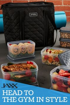 Head to the Gym in Style with Jaxx's new Quilted FitPaks!