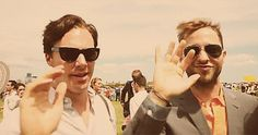 (Gif) Benedict Cumberbatch waves like a 5-year-old. This is how I'm waving from now on.