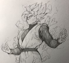 舞零(ぶれ) (@FANTASTICKYOUTH) | Twitter Cool Cartoon Drawings, Dbz Drawings, Dragon Ball Gt, Goku Manga, Gas Mask Art, Z Warriors, Ball Drawing, Seven Deadly Sins Anime, Estilo Anime