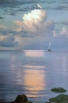 Морские пейзажи Алексея Адамова