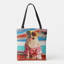 DREAMROSE: Products on Zazzle Dog Tote Bag, Custom Tote Bags, Edge Design, Reusable Tote Bags, Sewing, Classic, Dogs, Modern, Shopping