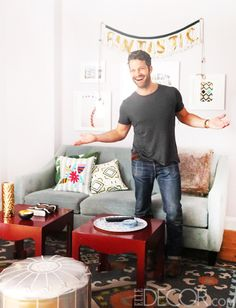 Nate Berkus Living Room Makeover - How To Rearrange Living Room - House Beautiful