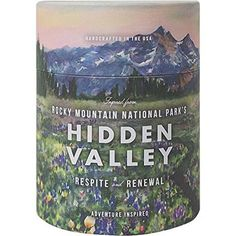 Rocky Mountain National Park's Hidden Valley invites you in to the gentle meadow experience of the breathtaking & majestic Rocky Mountains. Wondrously scented with wild rose, avalanche lily & shooting star and nestled in a tube that can be repurposed. The Embrace, Inside Outside, Luxury Candles, Rocky Mountain National Park, Watercolor Artists, Find Picture, Rocky Mountains, Biodegradable Products, Candle Jars
