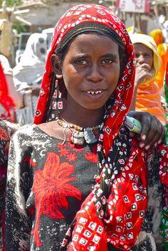 Ethiopië - Asaita - marktplaats