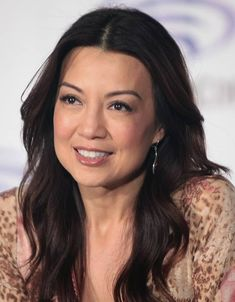 The actors aren't allowed to spoil anything that's coming up, but Ming-Na Wen is perfectly happy to talk about everything that's happened so far with her character, the steely Melinda May. Asian Celebrities, Beautiful Celebrities, Celebs, Pretty Asian, Beautiful Asian Girls, Beautiful Ladies, Asian Aging, Street Fighter Movie, Melinda May
